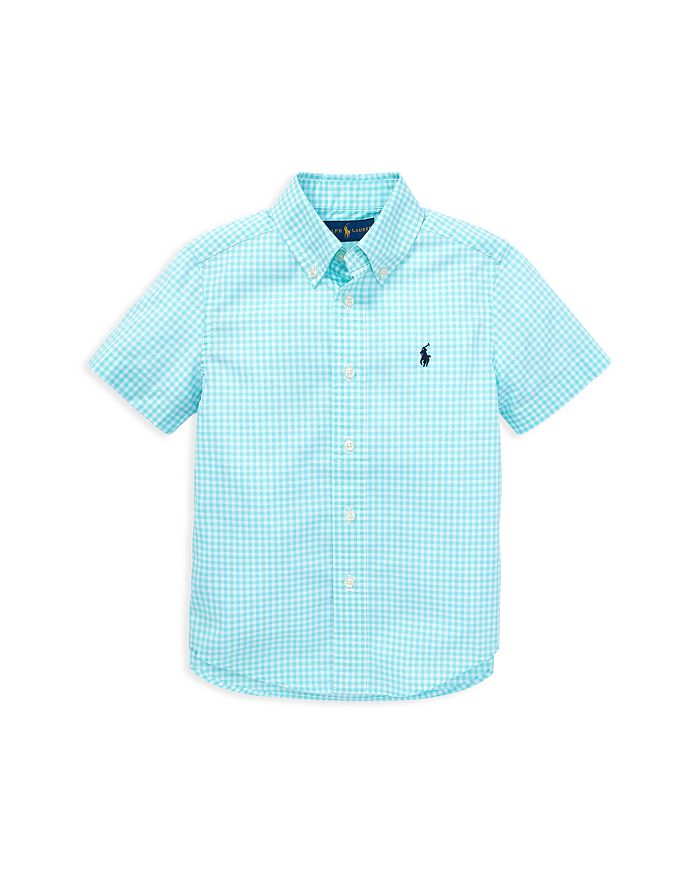 Ralph Lauren - Boys' Gingham Poplin Camp Shirt - Little Kid