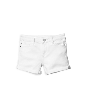 DL1961 Girls' Piper Cuffed Denim Shorts - Little Kid
