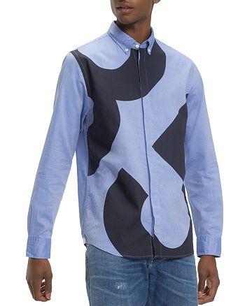 Tommy Hilfiger - 85-Printed Regular Fit Button-Down Shirt