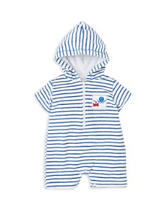 Kissy Kissy - Boys' Striped Terry Romper - Baby