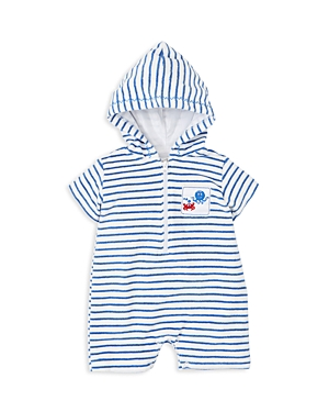 Kissy Kissy Boys Striped Terry Romper  Baby