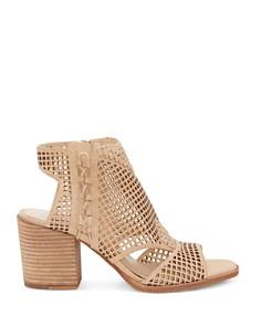 VINCE CAMUTO - Women's Kampbell Mesh Block Heel Sandals