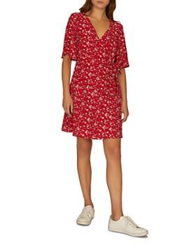 e0e50e7f946 Sanctuary - Girl on Fire Faux-Wrap Floral Dress ...