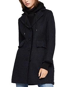 BCBGeneration - Hooded Tweed Coat