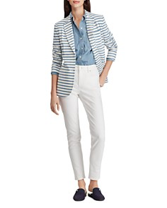 Ralph Lauren - Striped Knit Blazer