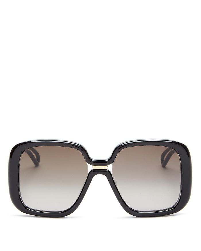 4bc101eeb95a Givenchy Women's Oversized Square Sunglasses, 55mm | Bloomingdale's