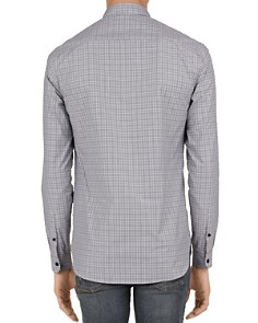 The Kooples - Prince Bowler Checked Slim Fit Button-Down Shirt