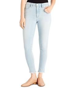 Ella Moss - High-Rise Frayed Cropped Skinny Jeans in Rowan