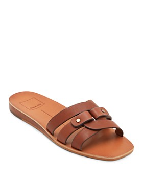 Dolce Vita - Women's Cait Leather Slide Sandals