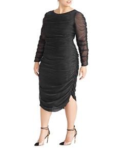 Rachel Roy Plus - Estelle Metallic Ruched Dress
