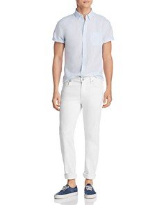 The Men's Store at Bloomingdale's - Short-Sleeve Regular Fit Button-Down Shirt - 100% Exclusive