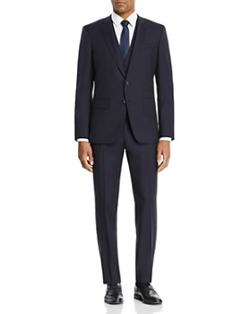 7e75a543 BOSS Hugo Boss - Huge/Genuis Tonal Micro-Checked 3-Piece Slim Fit ...