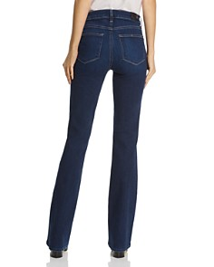PAIGE - Manhattan High Rise Bootcut Jeans in Pompeii
