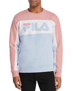 96f05a613e1 FILA - Lesner Color-Block Fleece Logo Sweatshirt ...