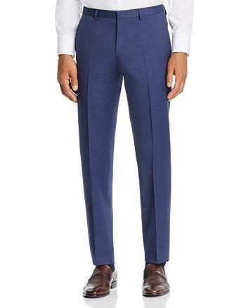 HUGO - Hets Micro-Birdseye Slim Fit Suit Pants