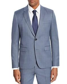 HUGO - Astian Micro-Birdseye Slim Fit Suit Jacket