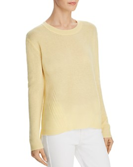 C by Bloomingdale's - High/Low Cashmere Sweater - 100% Exclusive
