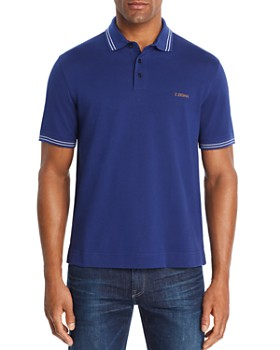 Z Zegna - Short-Sleeve Regular Fit Polo Shirt - 100% Exclusive