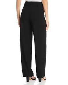Elie Tahari - Ezmarelda Pleated Wide-Leg Pants