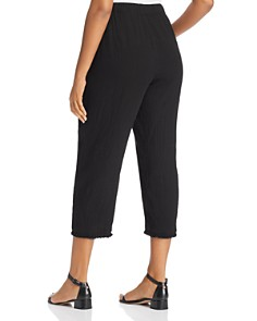 Eileen Fisher Plus - Organic Cotton Cropped Pants