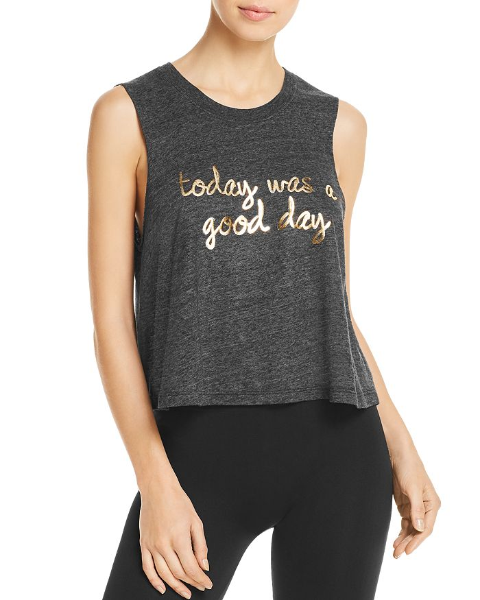 Spiritual Gangster - Good Day Cropped Muscle Tank