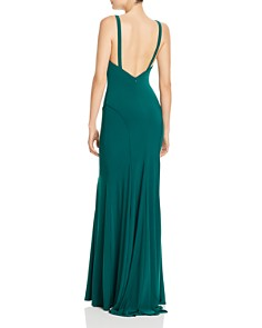 Mac Duggal - Fluted Jersey Gown
