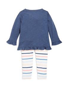 Splendid - Girls' Ruffled Top & Striped Leggings Set - Baby