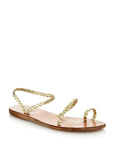 Ancient Greek Sandals - Women's Eleftheria Braided Slip-On Sandals