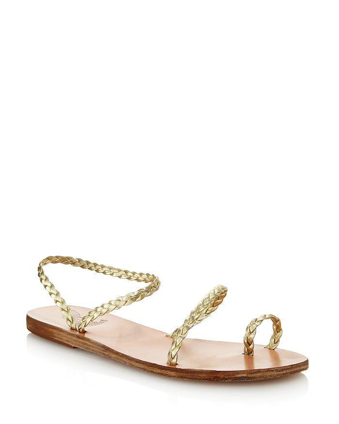 Ancient Greek Sandals - Women's Eleftheria Braided Slip-On Sandals