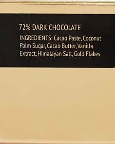 Cioccolada - 24K Gold Dark Chocolate Bar