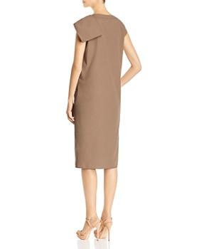 Max Mara - Zante Loop-Detail Cotton Shift Dress