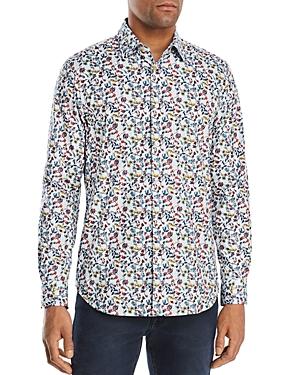 Paul Smith Floral Slim Fit Button-Down Shirt