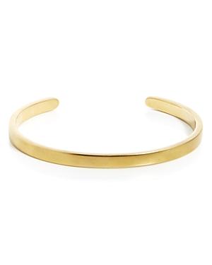 Singular Cuff Brass Bracelet