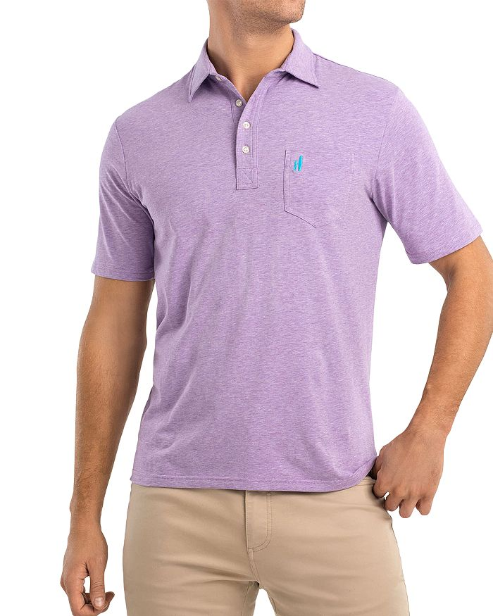 Johnnie-O - Original Heathered Regular Fit Polo Shirt