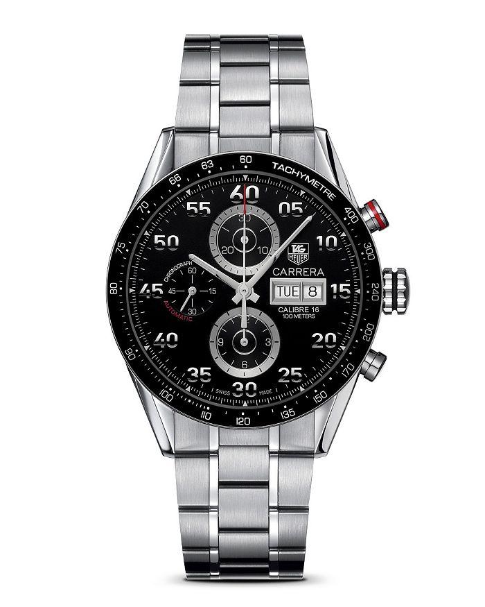 "TAG Heuer - ""Carrera"" Bracelet Strap Watch, 43mm"
