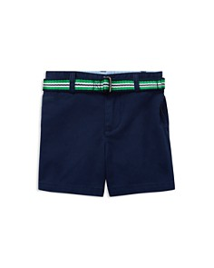 Ralph Lauren - Boys' Belted Stretch-Chino Shorts - Baby
