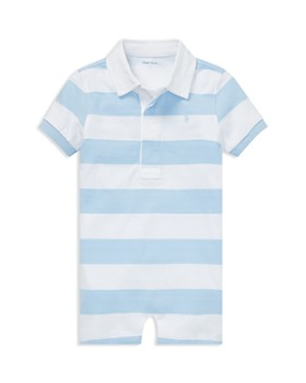 9ee5c65a655 Ralph Lauren - Boys  Striped Cotton Rugby Shortall - Baby ...
