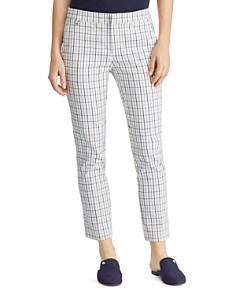 Ralph Lauren - Tattersall Check Skinny Pants