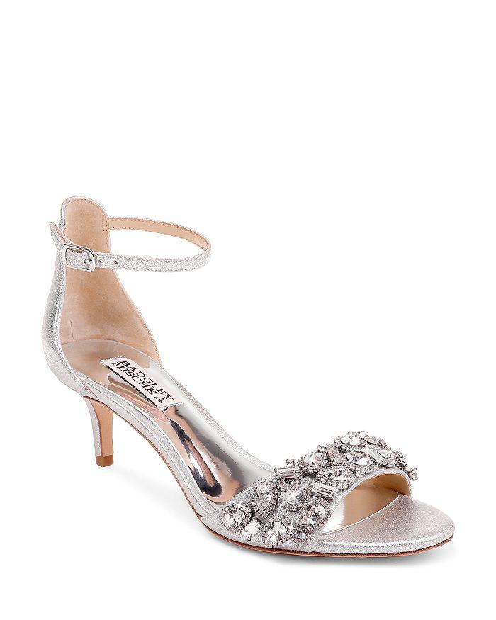 Badgley Mischka - Women's Lara II Embellished High-Heel Sandals