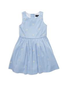 Ralph Lauren - Girls' Daisy Fit-and-Flare Dress - Little Kid