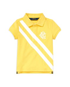 Ralph Lauren - Girls' Stretch-Mesh Polo Shirt - Little Kid