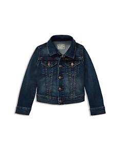 Ralph Lauren - Girls' Denim Trucker Jacket - Little Kid