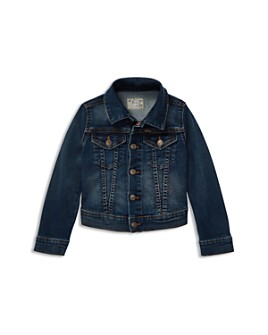 Ralph Lauren - Girls' Denim Trucker Jacket - Little Kid