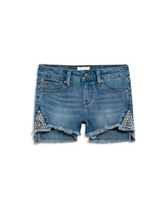 Hudson - Girls' Leah Studded Denim Shorts - Big Kid
