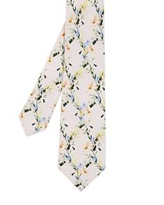 Ted Baker - Hyatie Small Flower Silk Skinny Tie