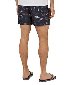 Ted Baker - Arktic Safari Print Swim Shorts
