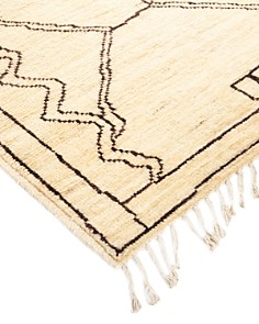 """Solo Rugs - Bedouin Moroccan Runner Rug, 3'3"""" x 13'9"""""""