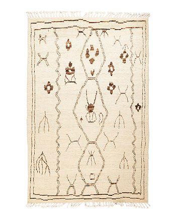 "Solo Rugs - Bedouin Moroccan Area Rug, 5'0"" x 8'1"""