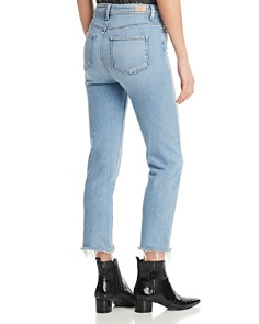 PAIGE - Hoxton Crop Slim Jeans in Carlotta