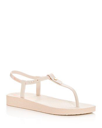 Ipanema - Women's Plushweave Wedge Thong Sandals